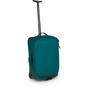 Osprey Rolling Transporter Carry-On 38 Reis Rugzak, westwind teal
